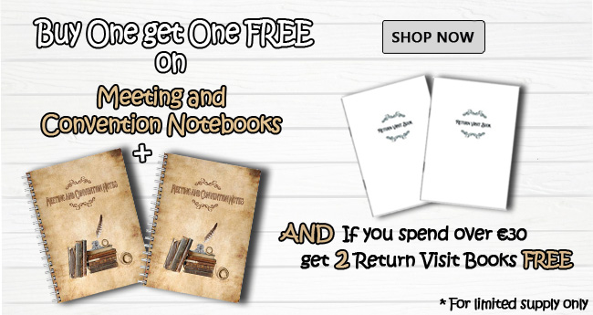 Main Banner - FREE NOTEBOOK - Ministry Gallery