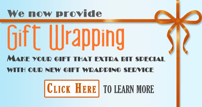 Main Banner - Gift Wrapping by Ministry Gallery