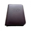 Leather Bible Cover with Zip Embossed with Tetragrammaton