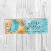 Bookmark Design # 1 Imitate Jesus Theme DIGITAL FILE - Regional Convention Souvenir / Gift - 2015