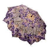 Umbrella Galleria Van Goghs Irises Walking Stick Style