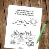 Remain Loyal to Jehovah - Children's Assembly Notebook (Mini Edition) 3