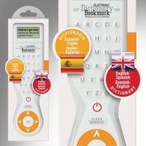 Electronic Dictionary Bookmark Bilingual : English - Spanish