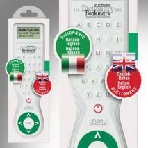 Electronic Dictionary Bookmark Bilingual : English - Italian