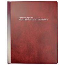 """Cahier pour la Reunion """"Vie chrétienne et ministère"""""""