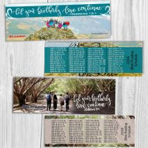 2016 Bible reading bookmarks 2