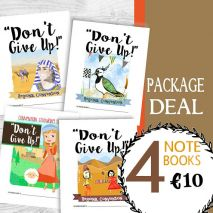 """2017 Children's Notebook Bundle - """"Don't Give Up"""" Convention PDF Download"""