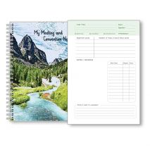 Meeting and Convention Notebook for children