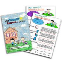Mon Premier Rapport de Service pour Enfants - PDF / Fichier Image 3