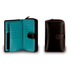 Ladies Leather Purse - 18 Card Slots