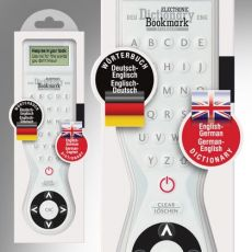 Electronic Dictionary Bookmark Bilingual : English - German