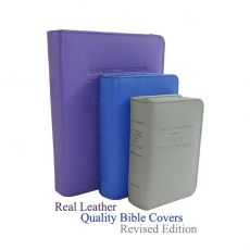 Embossed Leather Bible Covers (2013 Edition) - ENGLISH