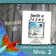Portuguese listing childrens notebook nivel 2