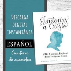 Spanish 'Imitate Jesus' DIGITAL Regional Convention Notebook PDF File Download