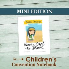 Ministry  Gallery - Remain Loyal to Jehovah Mini Convention Notebook for young Jehovah's Witnesses
