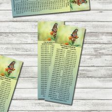 2018 Wonders of Creation Bible Reading BOOKMARKS - Set of 12