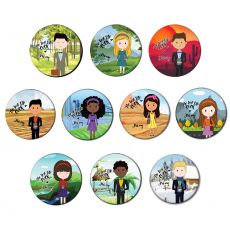 The Best Life Ever Button Pin Badge - Collection