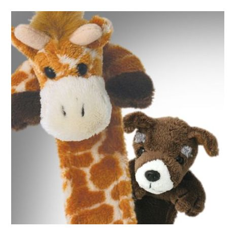 Giraffe and Dog Bookmarks
