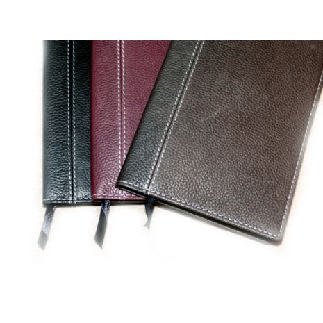 Daily Text & Jeremiah Book Cover - Leather