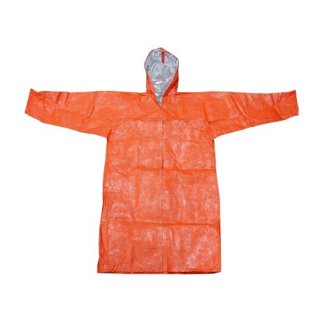 Reusable Insulated Poncho with Hood