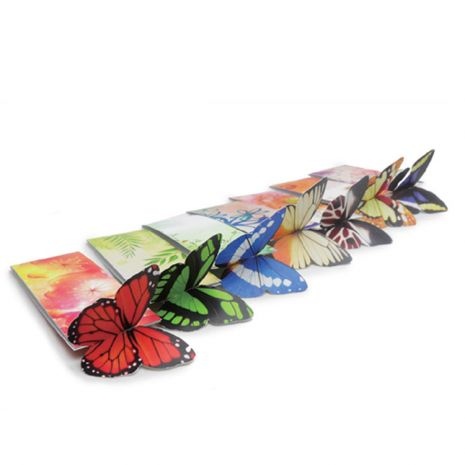 3D Butterfly Bookmark from MinistryGallery.com