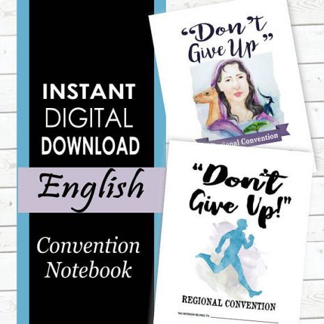 "2017 Convention Notebook - ""Don't Give Up!"" - MinistryGallery"
