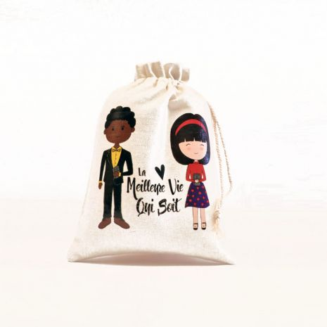 """""""The Best Life Ever"""" Children's Gift Bag - French"""