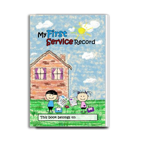 My First Service Record - PDF Image 2