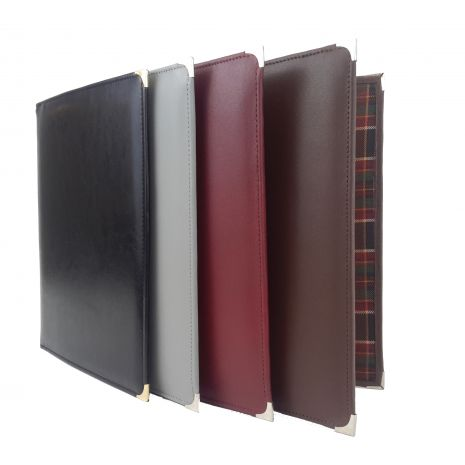 Fine Leather Christian Life and Ministry Workbook Folder